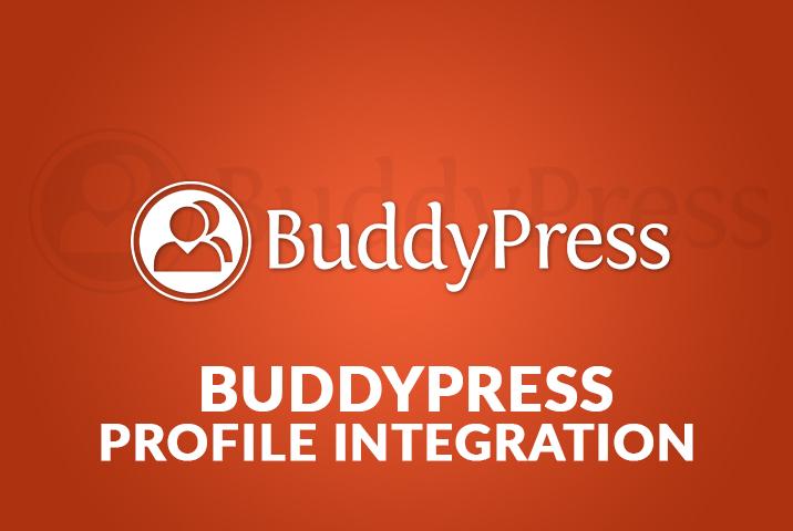 WP User Frontend BuddyPress