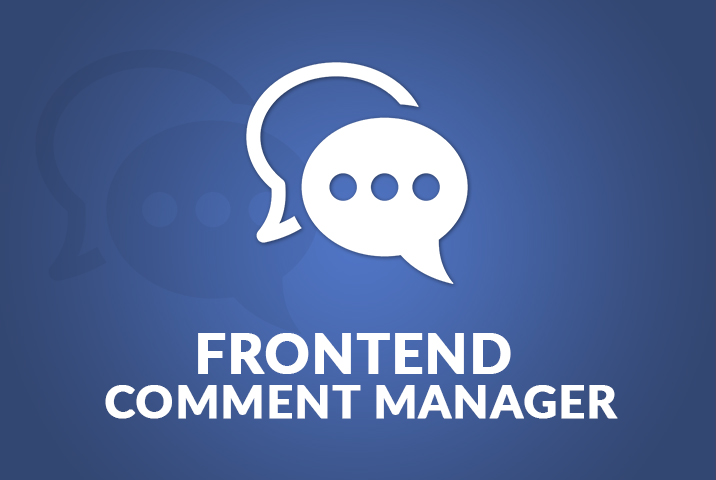 WP User Frontend Comments Manager