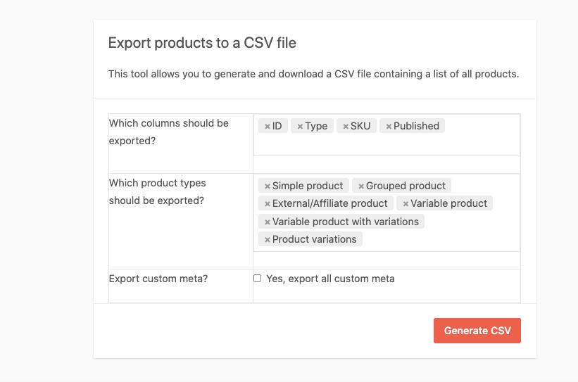 Dokan export as csv