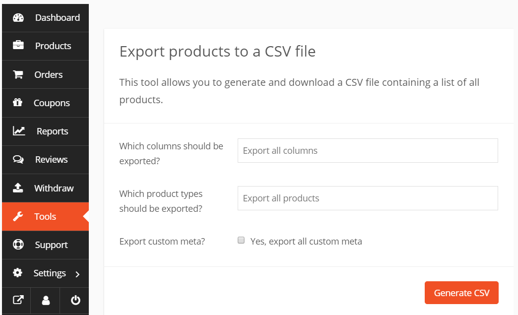 How to Easily Export-Import WooCommerce Products Using Dokan
