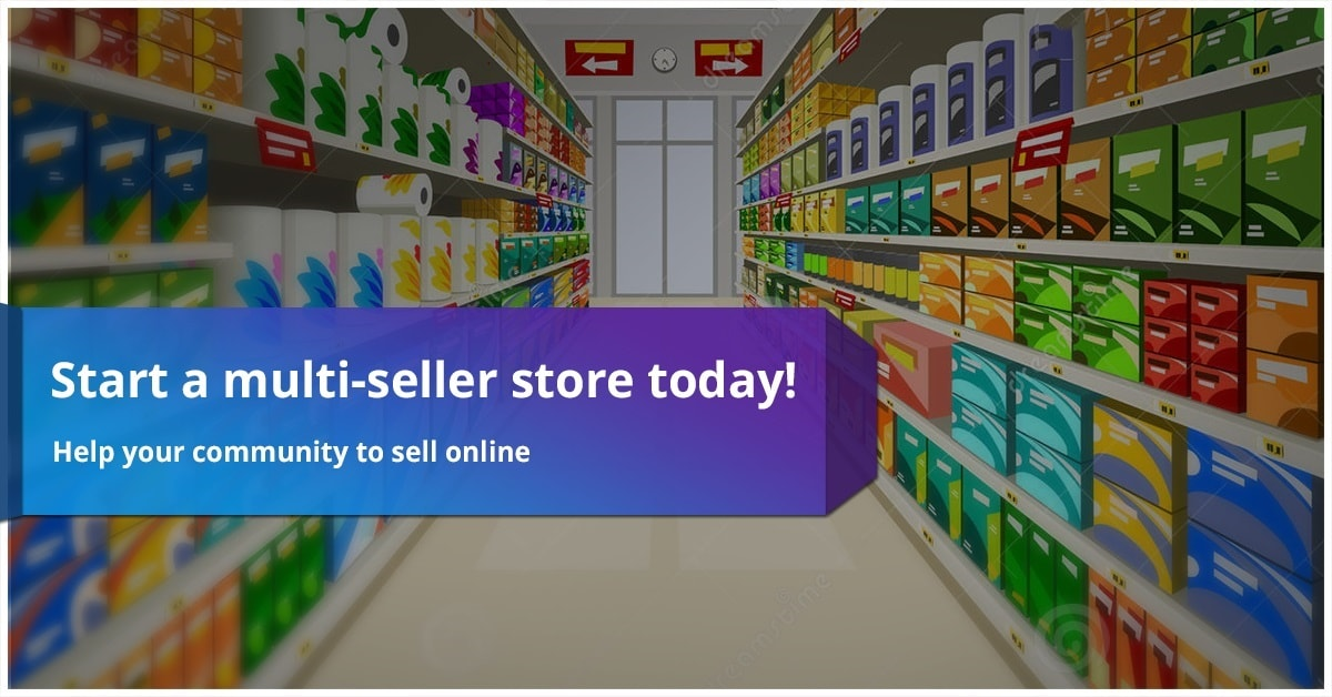 Start a multi-seller store today