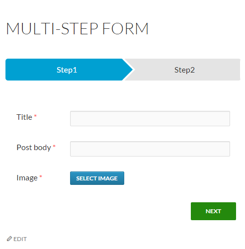 Multistep Form