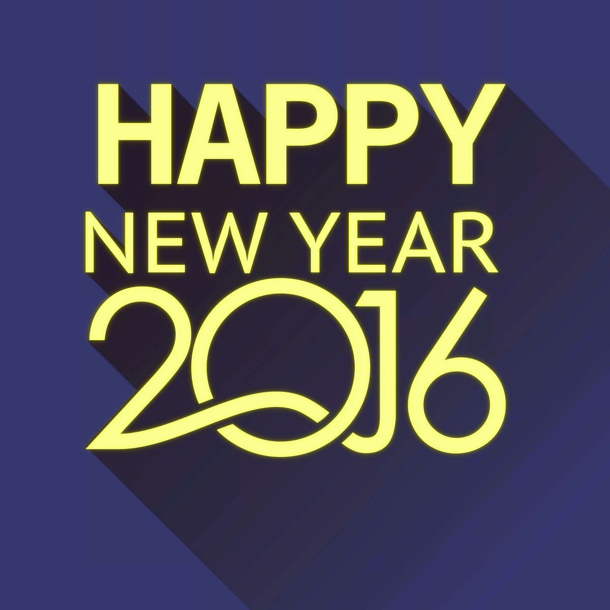 New Year 2016 card