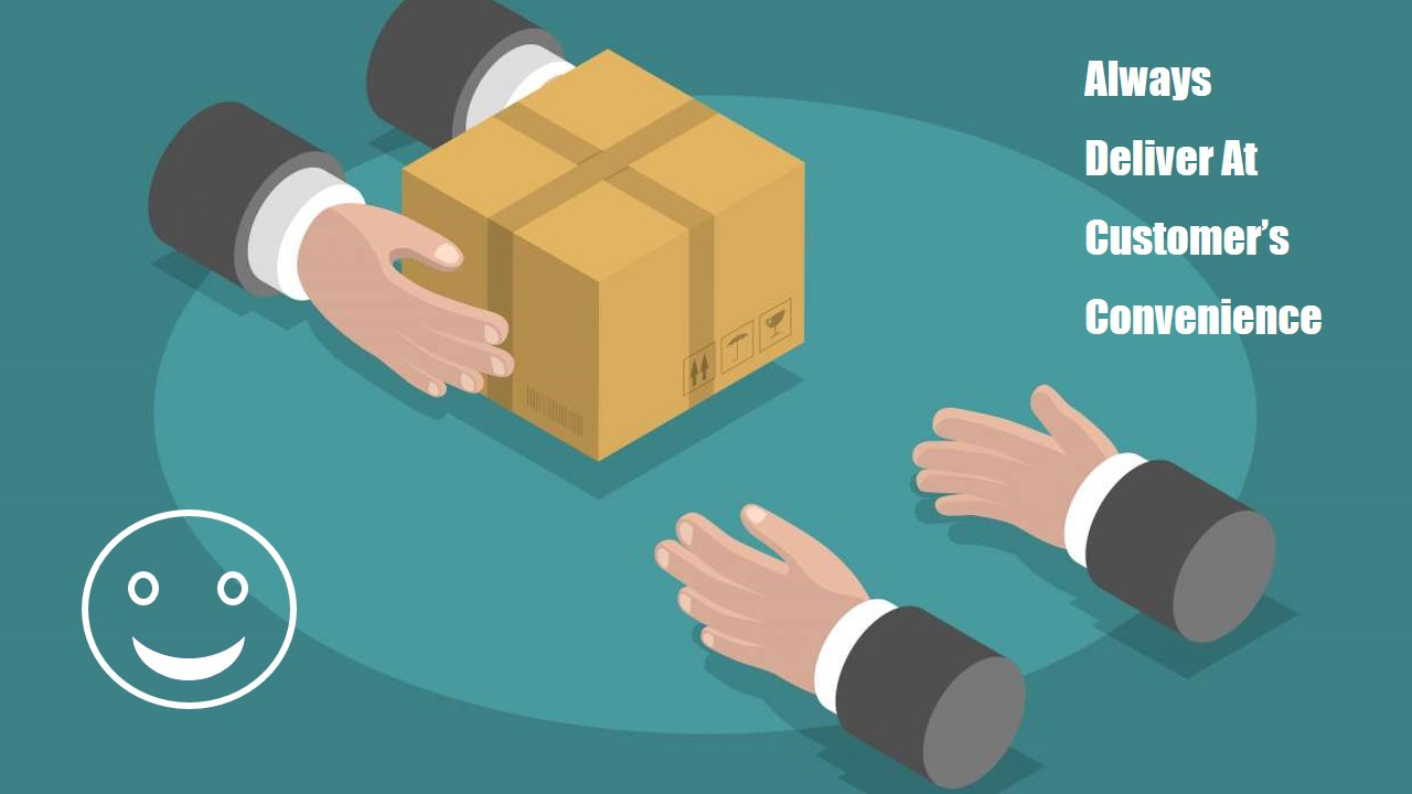 Customer Delivery.pptx choose delivery date
