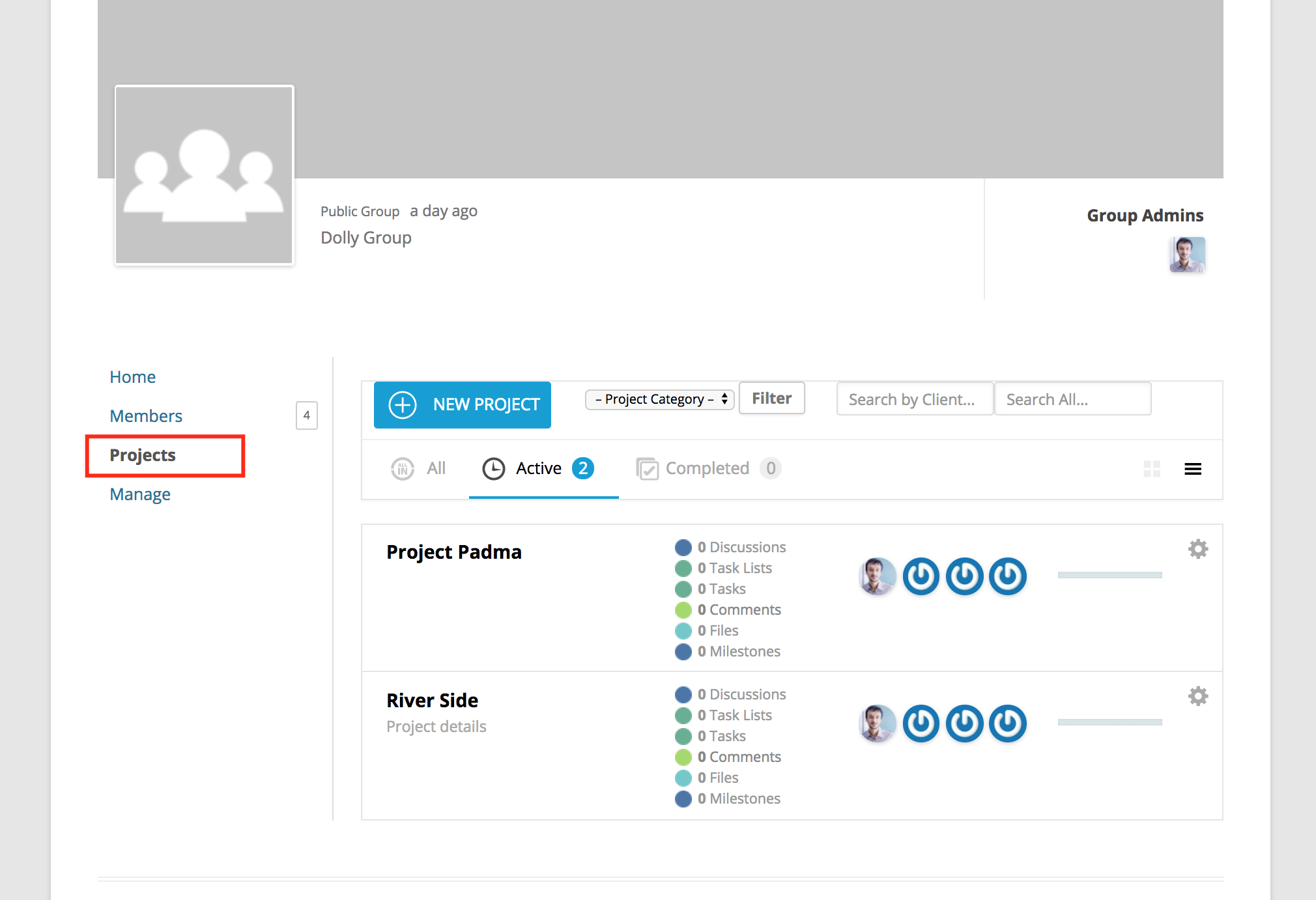 Integrating Project Manager with BuddyPress