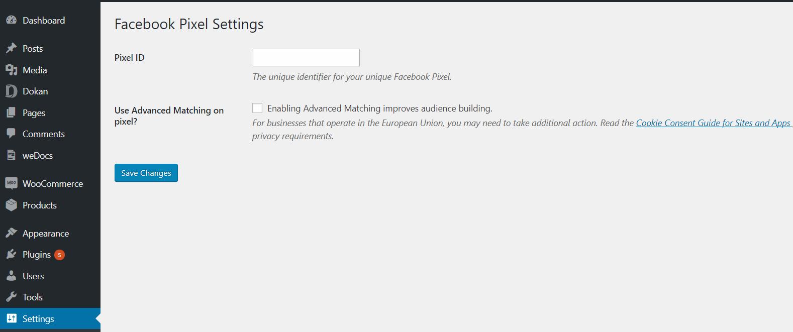 How to Install Facebook Pixel on WordPress &