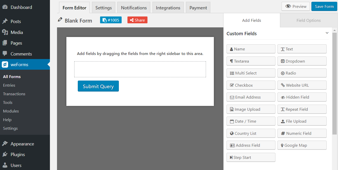 Share Digital Content Using WordPress Download Forms –