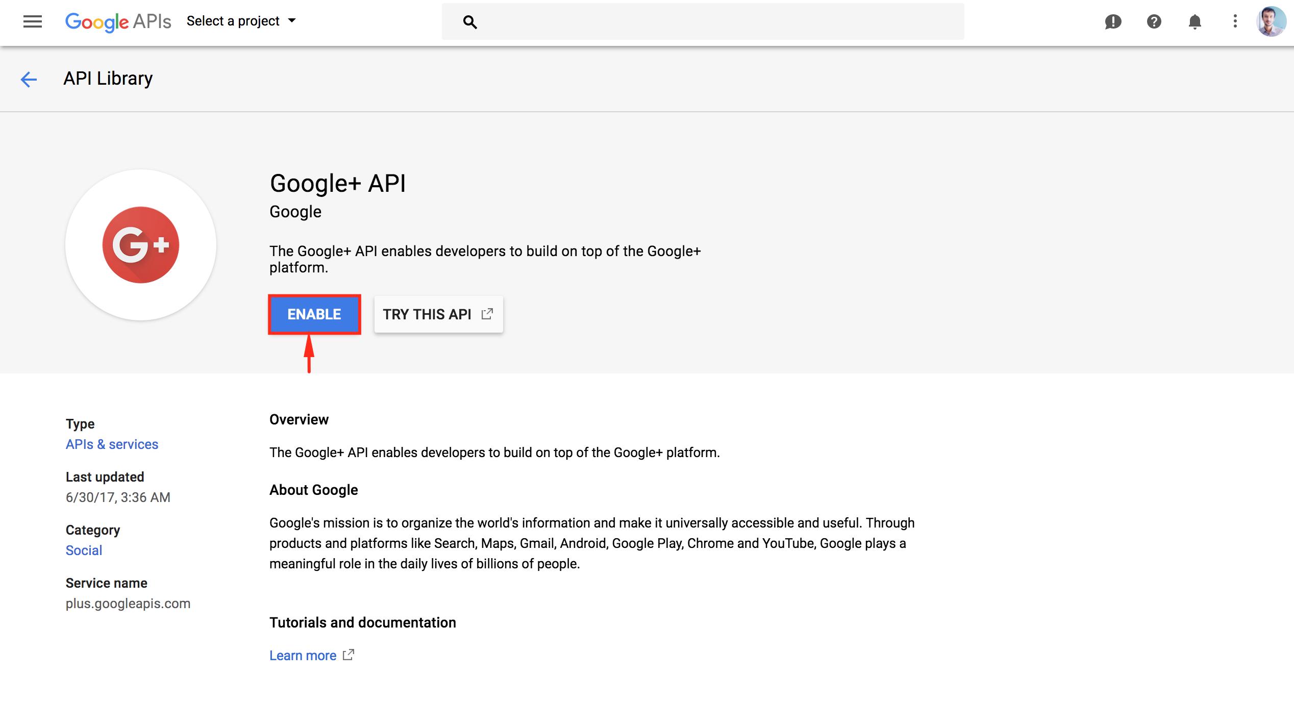 Configuring Google - weDevs