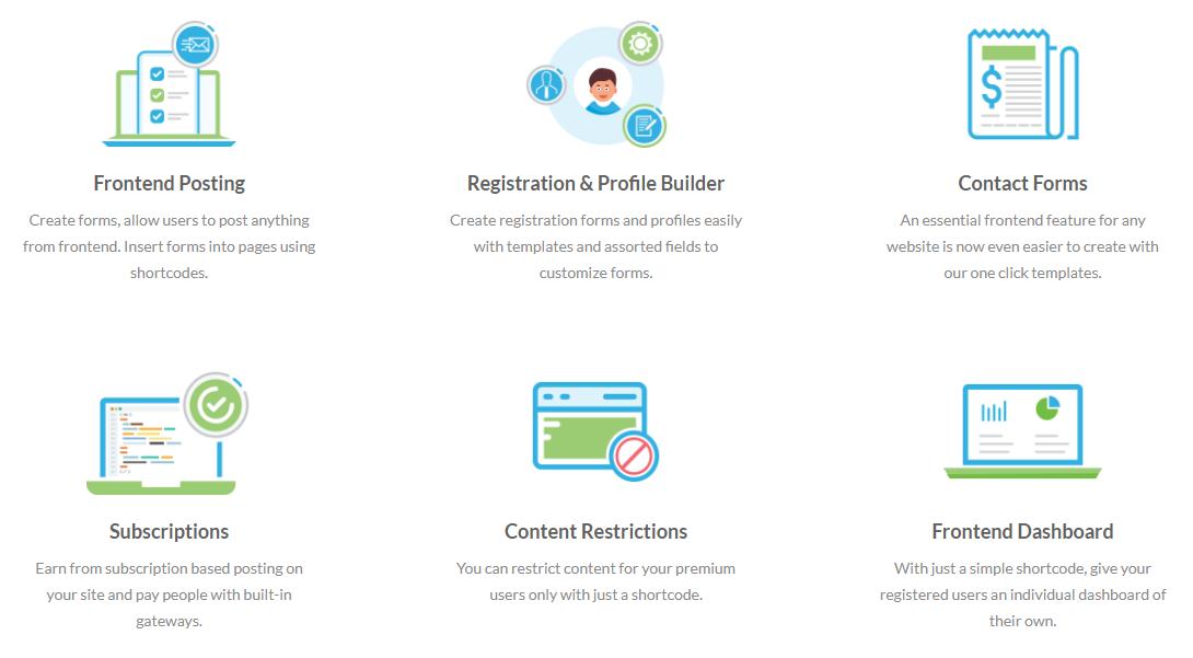 Best WordPress User Dashboard Plugin –