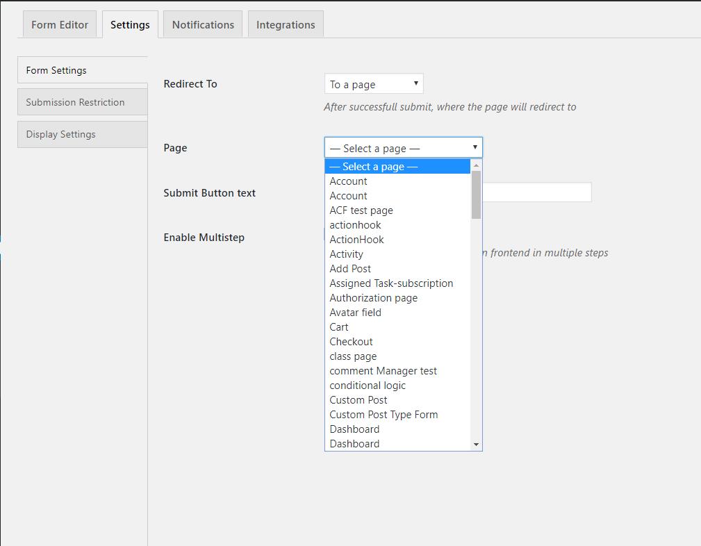 How To Create Online Job Application Forms In Wordpress Wedevs