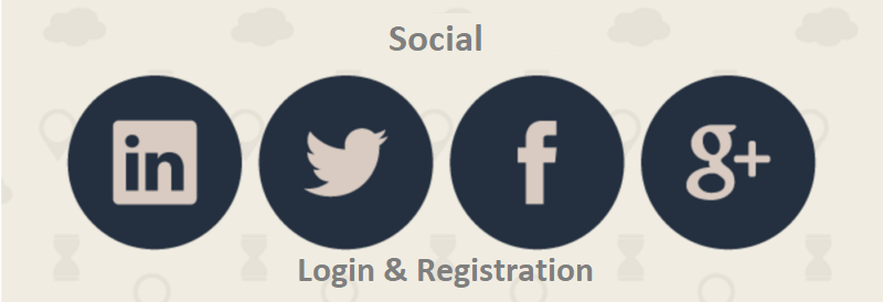 Social Login and Registration logo
