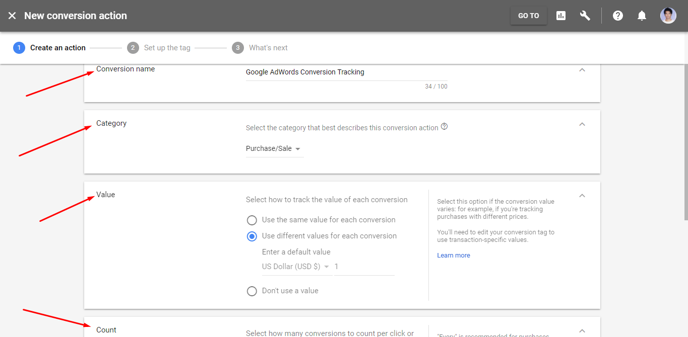 Google AdWords Account ID - weDevs