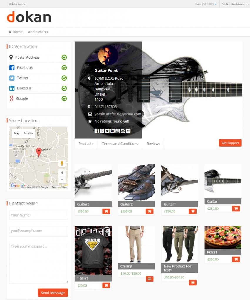 Dokan- best eCommerce plugin for WordPress