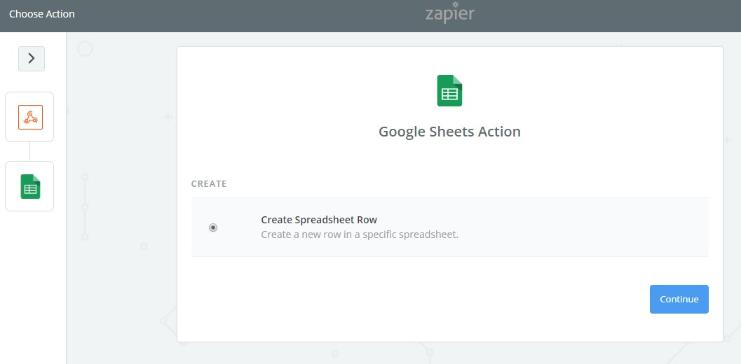 Google Spreadsheet Connect