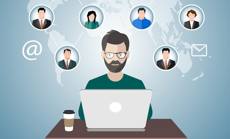 Remote team management in PM