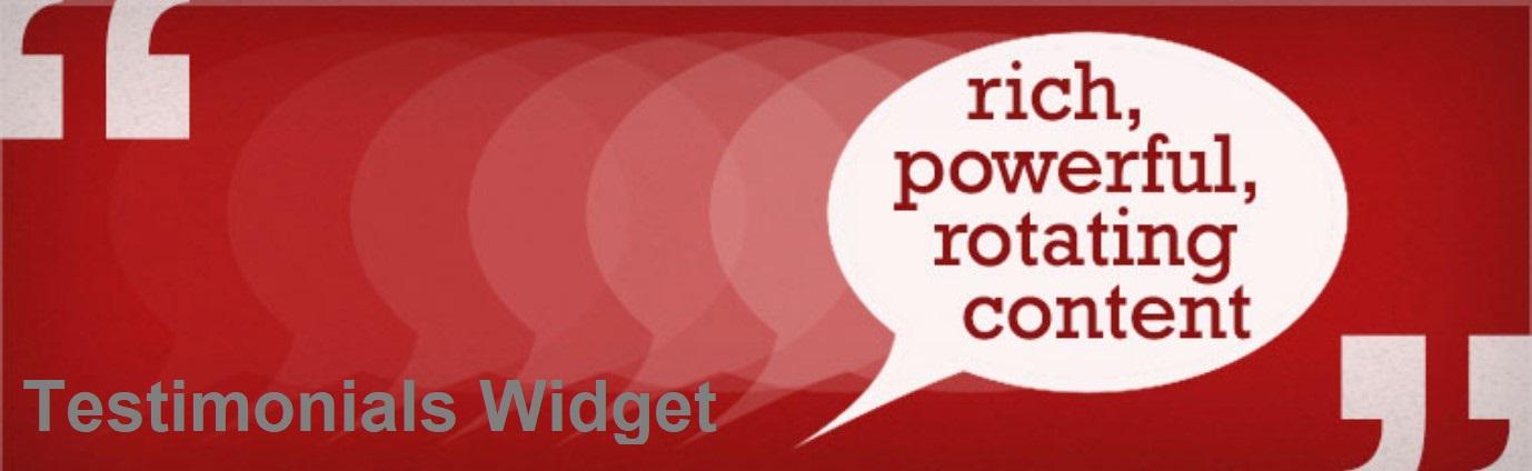Testimonial Widget plugin image