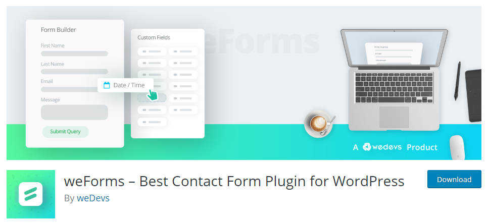 How To Build Simple Forms For Your Website With Free WordPress Form