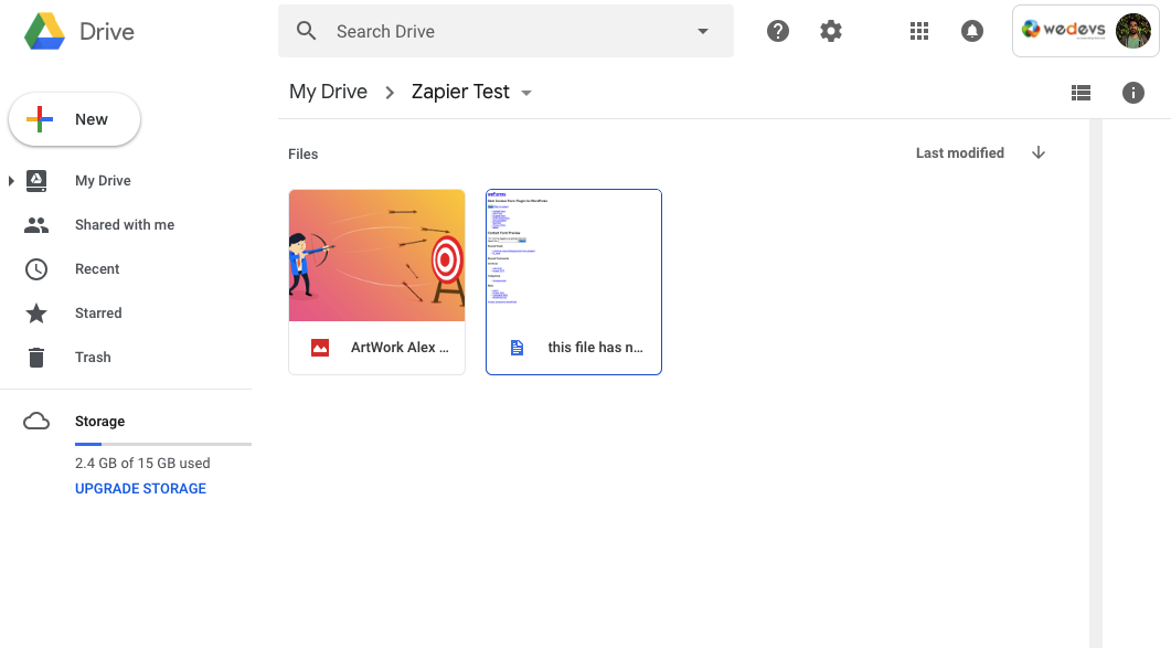 weforms-zapier-file-uploaded-added-google-drive