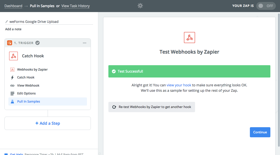 weforms-zapier-successful-webhook