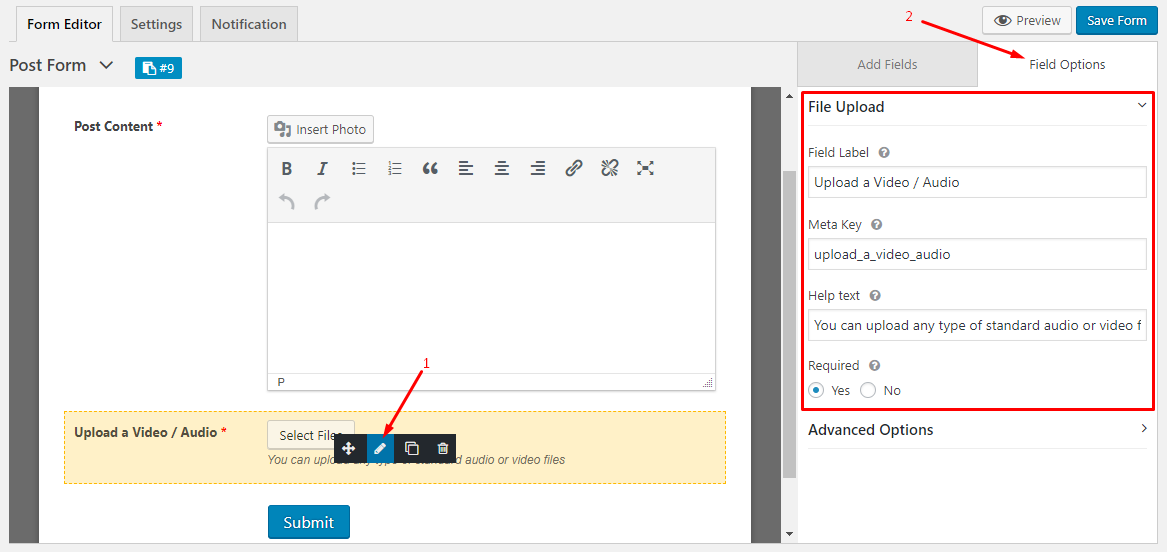 How to Upload or Embed Playable Audio &