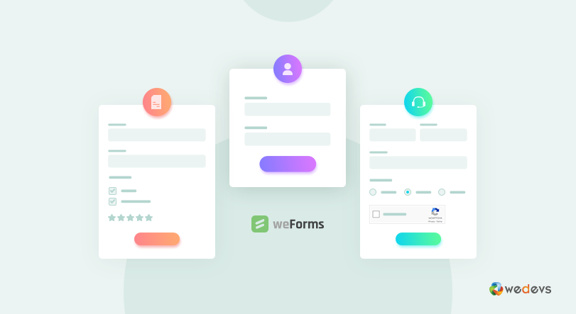 weForms is the best free WordPress plugins for business too