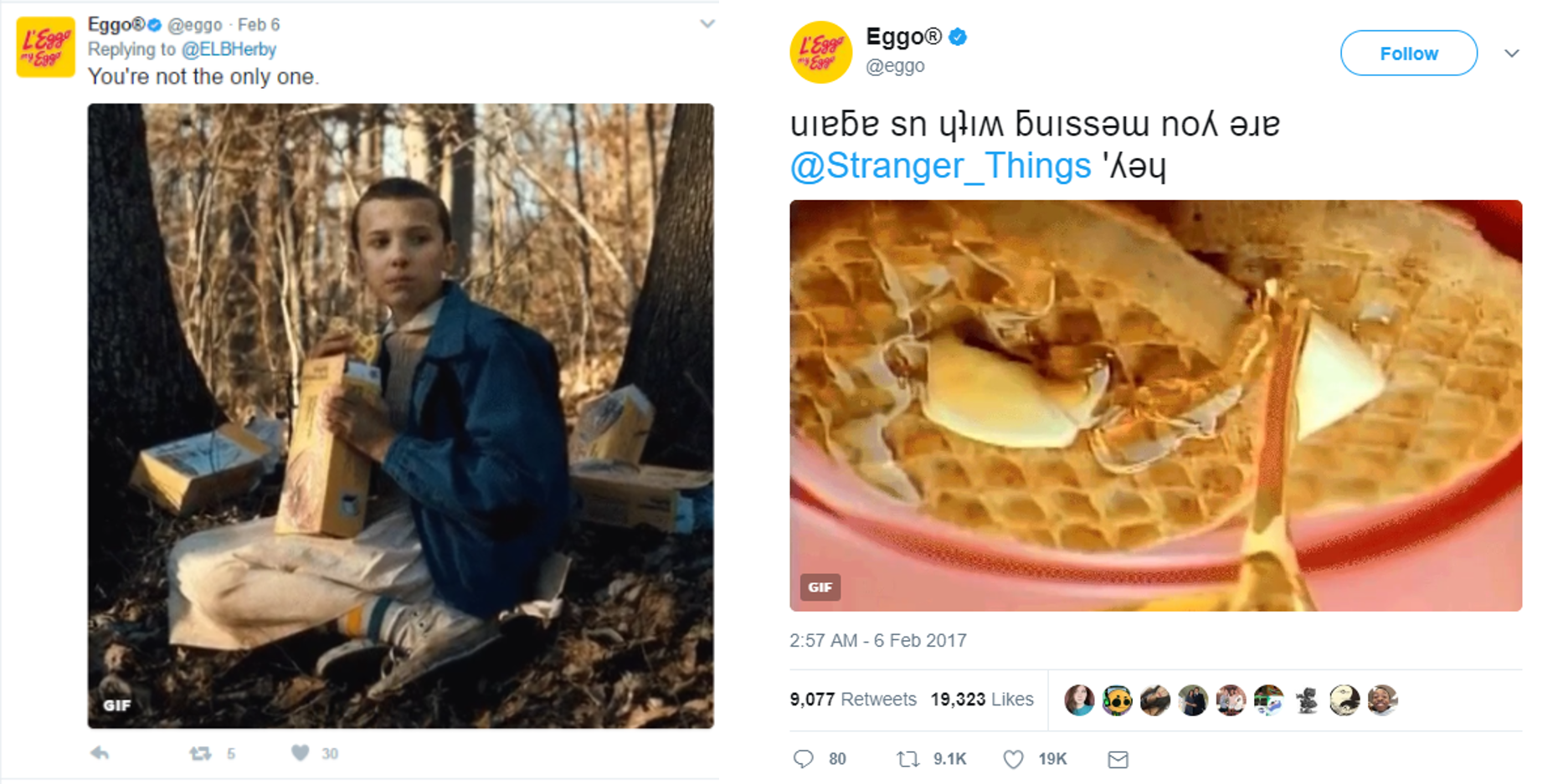 Netflix Stranger Things Campaigns