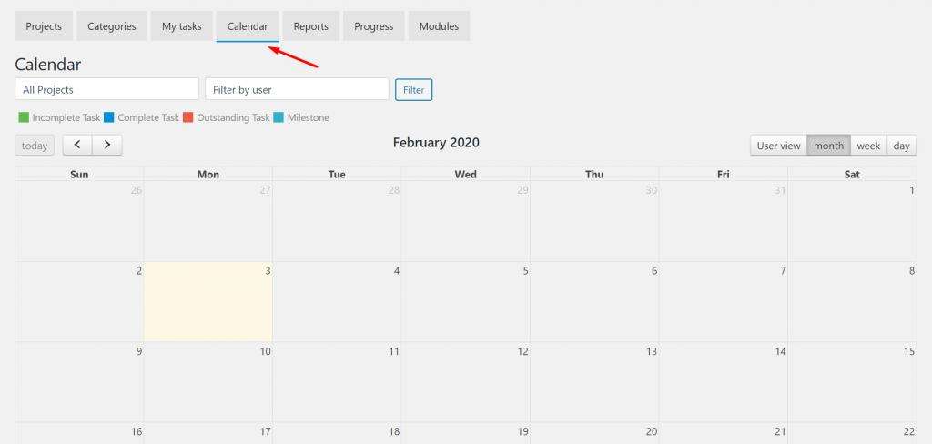 Calendar_Frontend