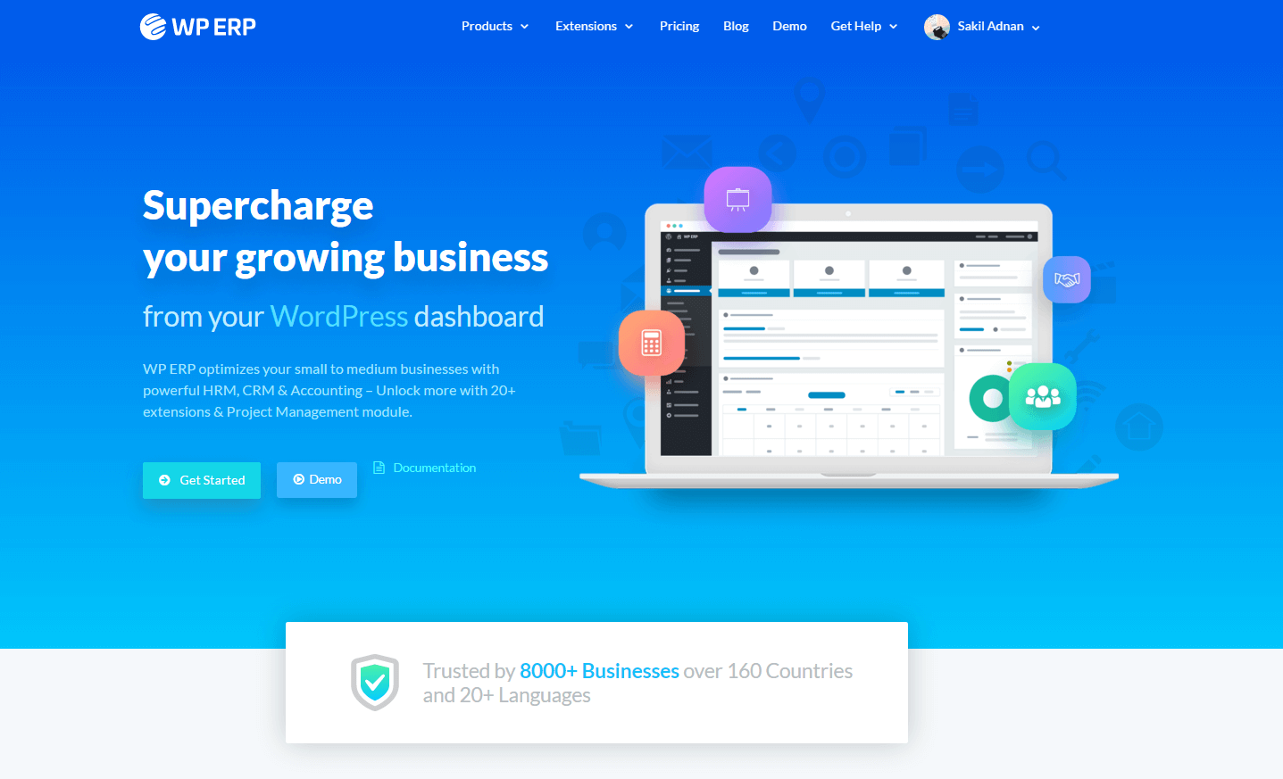 WPERP- best free WordPress plugins for business