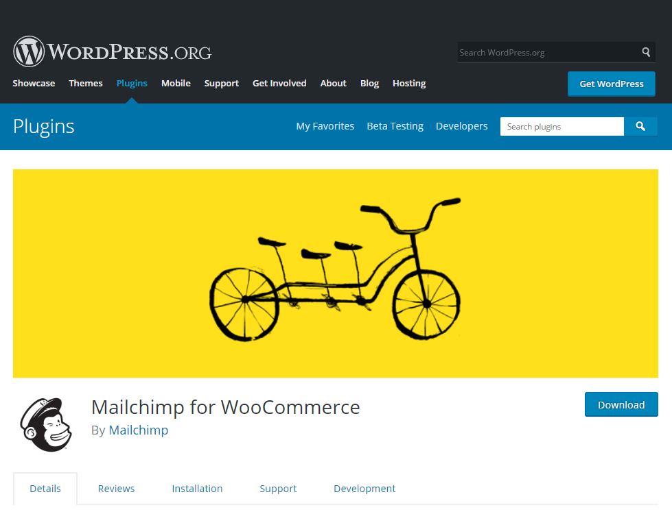 mail chimp- free woocommerce plugins