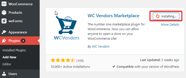 WC Vendor Marketplace