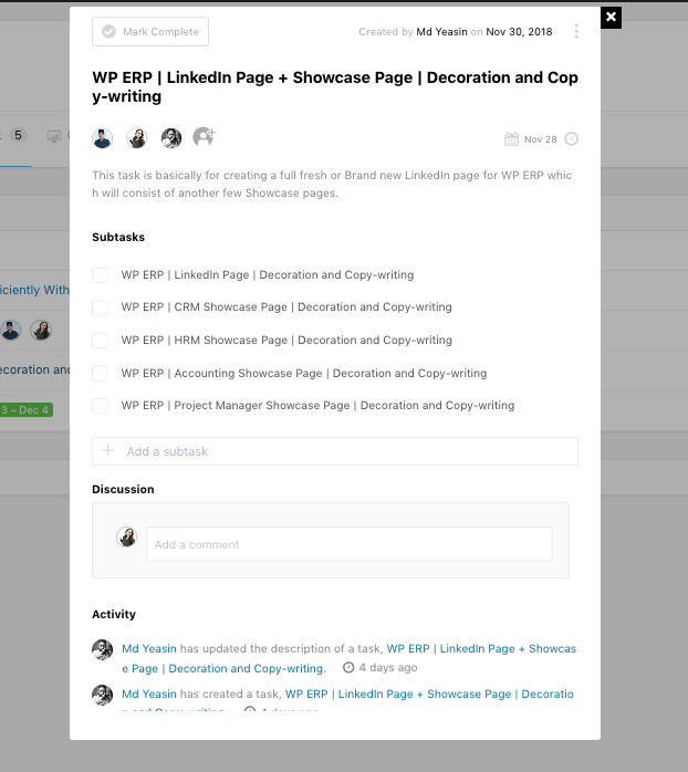 WordPress Blog Management