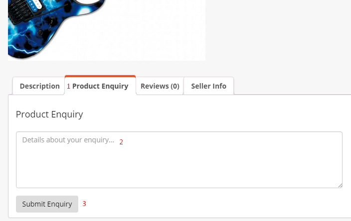 dokan-Product-Enquiry-form