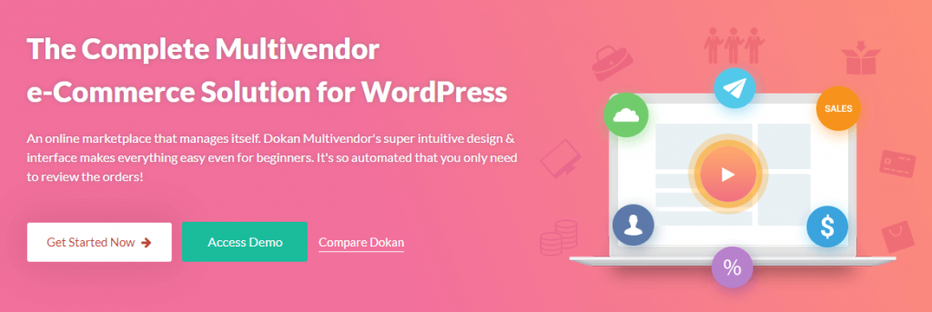 Dokan- best WordPress multivendor marketplace