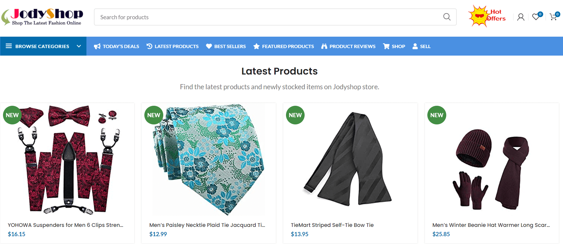 jodyshop-latest-products