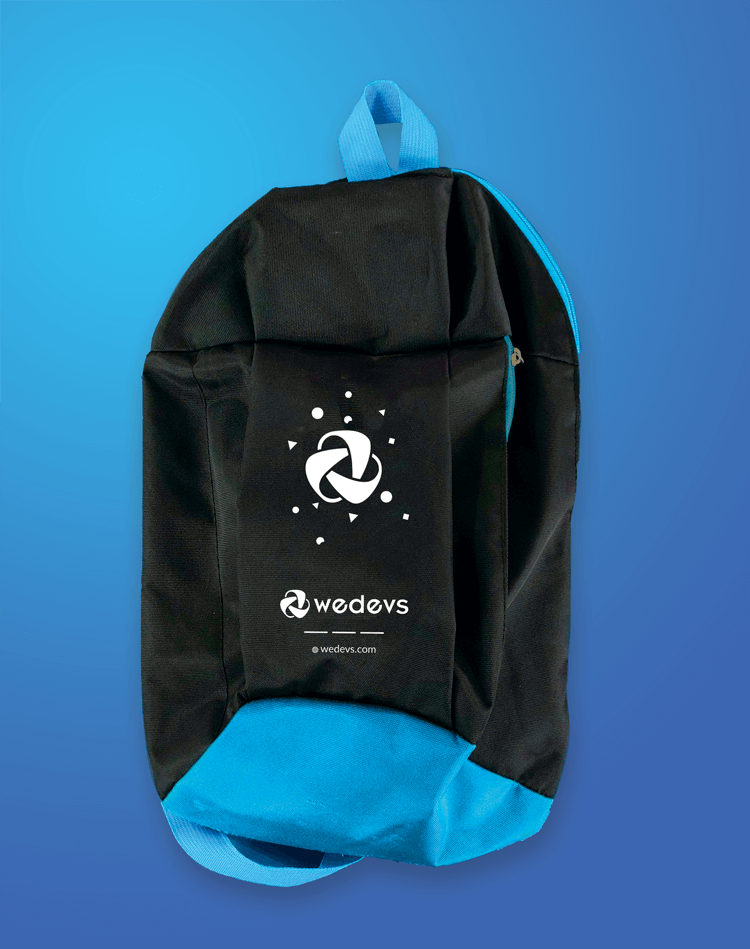WordCamp Swags- Backpack