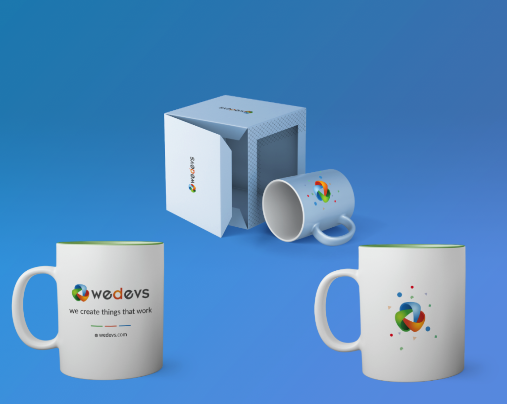 Swags for WordCamps- Mugs