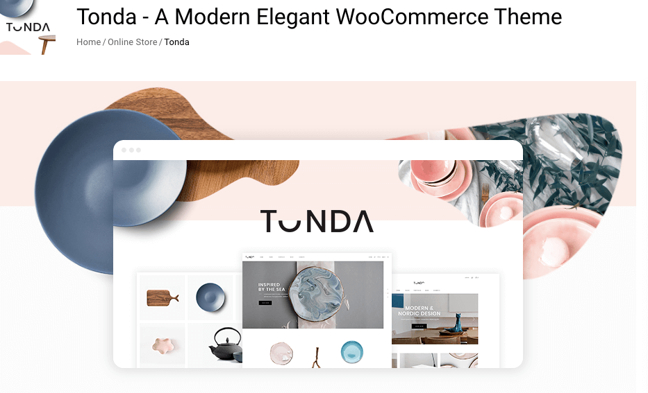 WooCommerce themes responsive