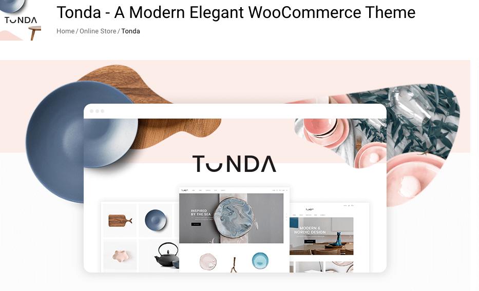 WooCommerce themes responsive