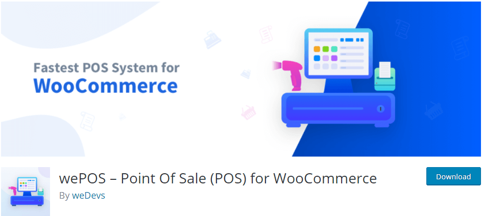 wePOS - open source POS system for WooCommerce