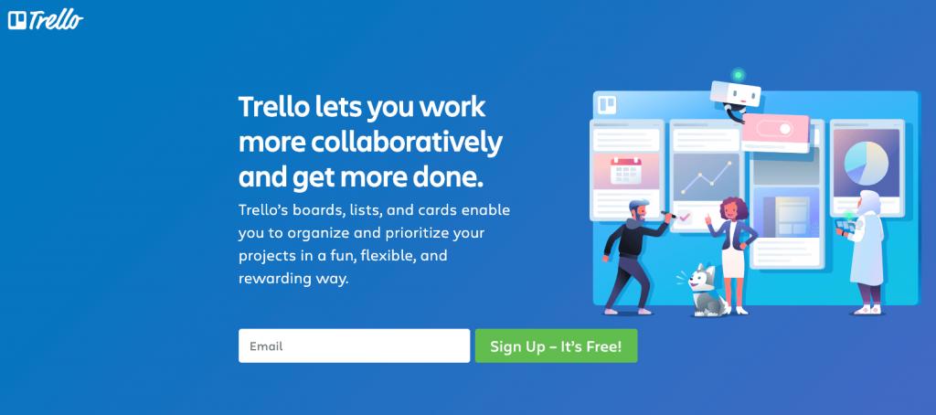 Task manager app - Trello