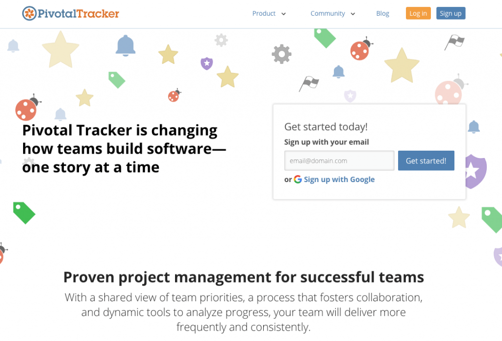 pivotal-tracker jira alternative