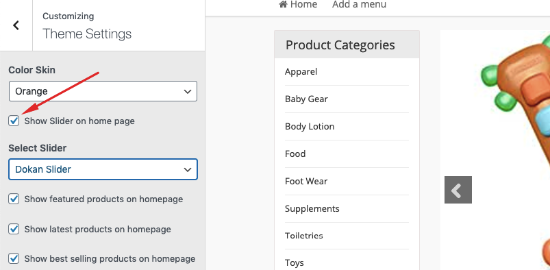 create baby products online marketplace