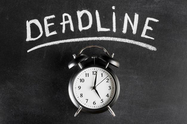 Deadline project management checklist