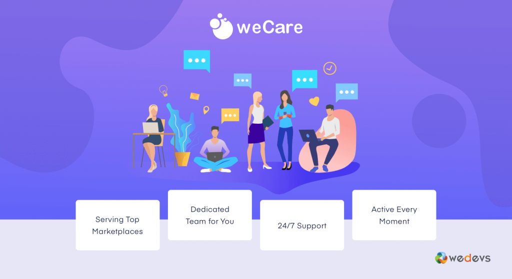 weCare wordpress maintenance service
