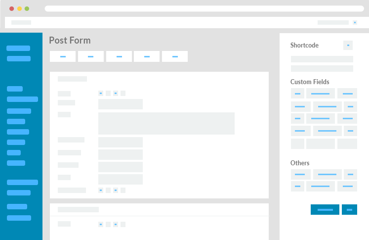 how to add form in WPUF