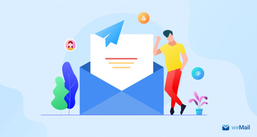 Email marketing to promote brand