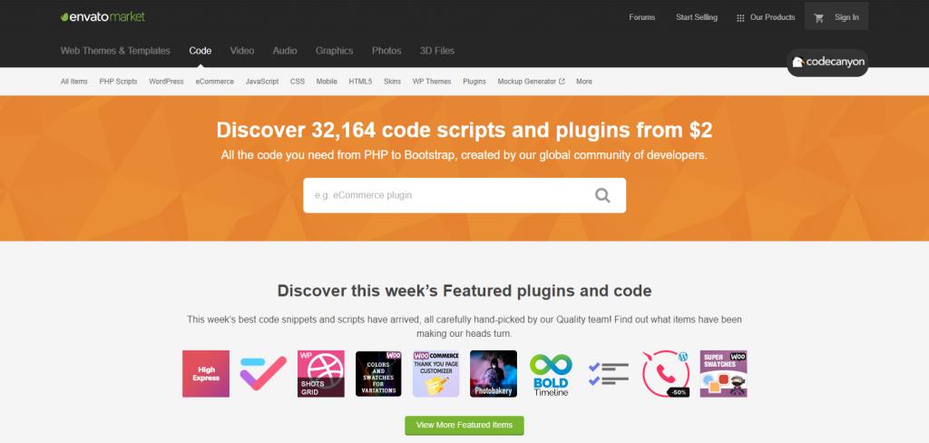 CodeCanyon Marketplace