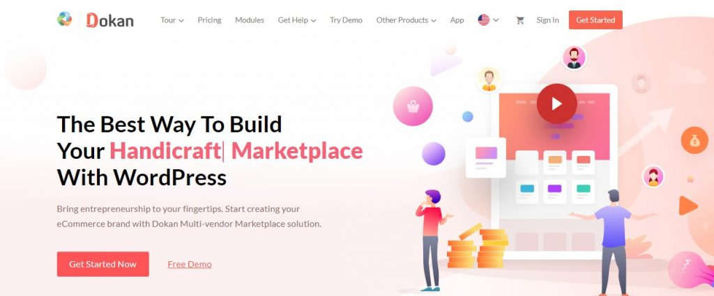 Build Marketplace with Dokan