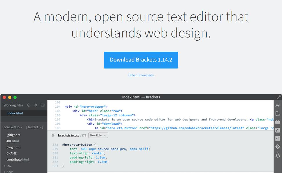 brackets-text-editor-for-programmer