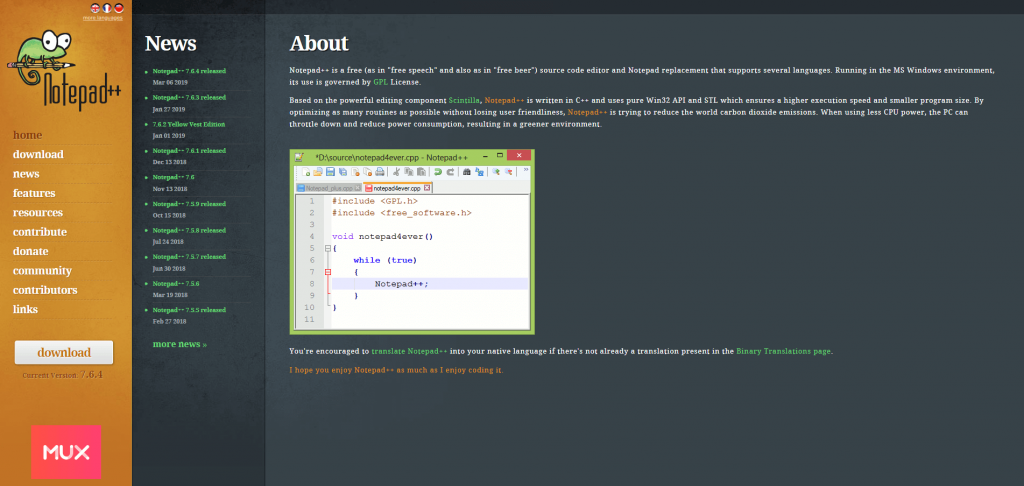 notepad-text-editor